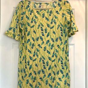 Woman's sz large EUC Lilly Pulitzer Cammie dress